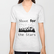shoot-for-the-stars466697-vneck-tshirts